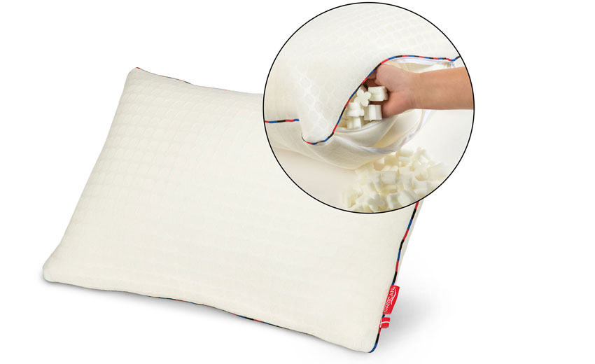 Memory Foam Flexible Adjustable Pillow - Danican Private Label Bedding