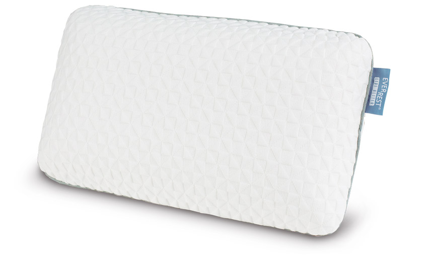 Memory Foam Travel Pillow - Small Compact Memory Foam Travel Pillow - Danican Private Label Pillows