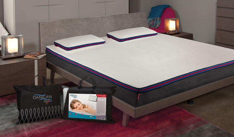3D Flo Memory Foam Mattress - 3D Flo Bedding - Danican Private Label Bedding