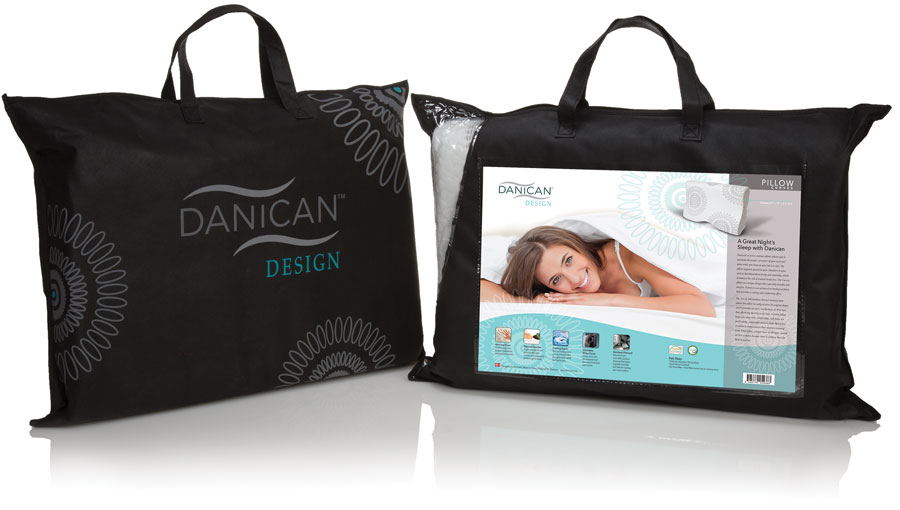 Danican Design Pillows - American Graphic Design Award - Studio 101 West Marketing Design